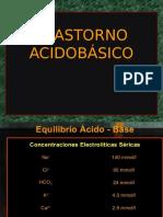 Trastorno Acidobásico