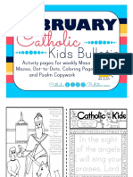 February 2016 Catholic Kids Bulletin
