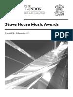 Stave House Syllabus