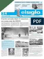 Edicion Impresa El Siglo 24-01-16