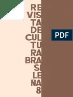Revista de Cultura Brasileña n° 8