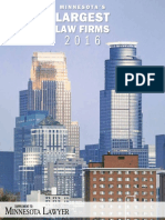 Minnesota Largest Law Firms 2016