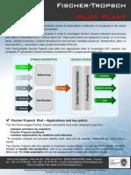 Fischer-Tropsch Pilot Plant Brochure 2013