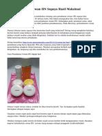 Cara Pemakaian Cream HN Supaya Hasil Maksimal