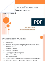 PID Controller for Temperature Control in Cyber-physical Home System