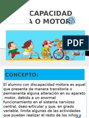 la discapacidad fisica pdf