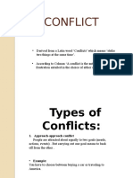 PSYCH Conflict