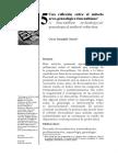 Una Reflexión Sobre El Método Arco-genealógico - Oscar Jaramillo