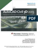 Guía rápida del curso AotoCAD Civil 3D 2013.pdf