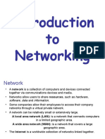 Final Introduction to Networking Chapt -1