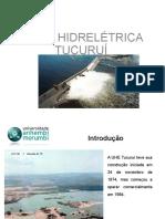 Barragem de Tucurui Apresentação UAM