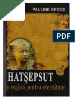 Pauline Gedge-Hatsepsut o Regina Pentru Eternitate (1)