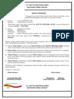 Surat Perjanjian Jatufcxgh Tempo Bg 4001