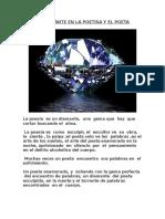 El Diamante en La Poetisa y El Poeta