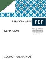 Servicio Wds
