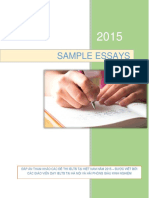 Sample Essays Vietnam 2015