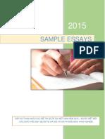 Sample Essays Vietnam 2015