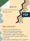 Mastering the MCAT Spring 2013