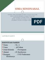 PKM Perawatan (PKM BARA-BARAYA) Refarat Karsinoma Sinonasal.pptx