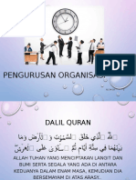 Pengurusan Dan Organisasi