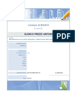 Computo Prove - Elenco Prezzi Unitari - 2015-11-28