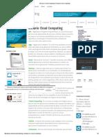 Primera Semana - Glosario Cloud Computing - Revista Cloud Computing