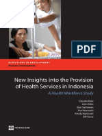 New Insights into the Supply and Quality of Health Services in Indonesia: