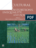 Agricultural Price Distortions, Inequality, and Poverty: