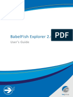 BabelFish Explorer 2.6 User's Guide.pdf