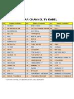 Channel Tv Kabel
