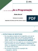 INTRODUÇÃO A PROGRAMACAO AULA 3