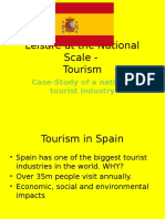 leisure at national scale - tourism