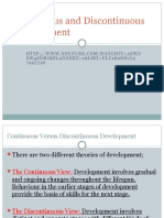 2. Continuous Discontinuous Development