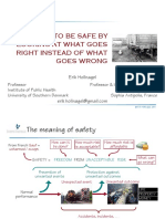 How to Be Safe by Looking at What Goes Right Instead of What Goes Wrong