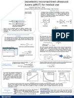 Poster Vogl 2010 Modelling of Piezoelectric Micromachined Ultrasound Transducers (PMUT) for Medical Use