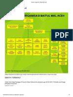 Struktur Organisasi Baitul Mal Aceh