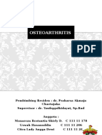 Laporan Kasus Osteoarthritis
