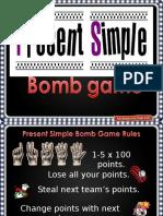 Present Simple Bomb Gaame