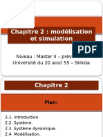 Cours 2 - Modelisation Et Simulation