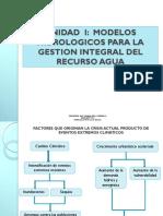 Modelos Hidrologicos Para La Gestion Integral Del Recurso Agua (Unidad I)