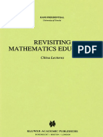 Revisiting Mathematics Education