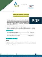 Proyección de Retorno - PTAP
