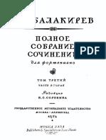 Balakirev Concerto Nº 1