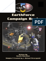 Babylon 5 RPG (1st Ed.)-EarthForce Campaign Book