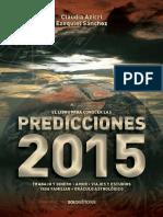 Libro Predicciones 2015 - C. Azicri, E. Sanchez