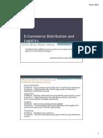 E-Commerce Distribution and Logistics Pptx