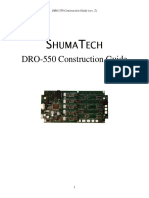 DRO-550 Construction Guide
