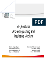 SF6 Features and Applications