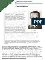 Alexandre Machado - Preconceitos Sobre a Filosofia Analítica