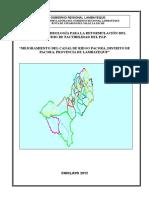 Estudio Hidrológico Canal Pacora (2do Avance)